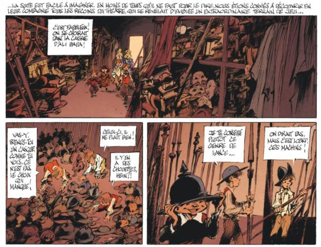Le magicien de Whitechapel Benn Dargaud Jeu d'enfants
