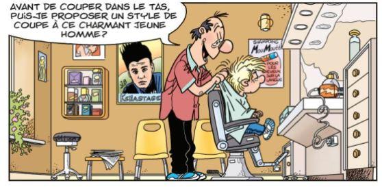 Cédric - Un look d'enfer - Laudec - Cauvin -Dupuis - coiffeur 1