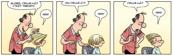 Cédric - Un look d'enfer - Laudec - Cauvin -Dupuis - coiffeur 2