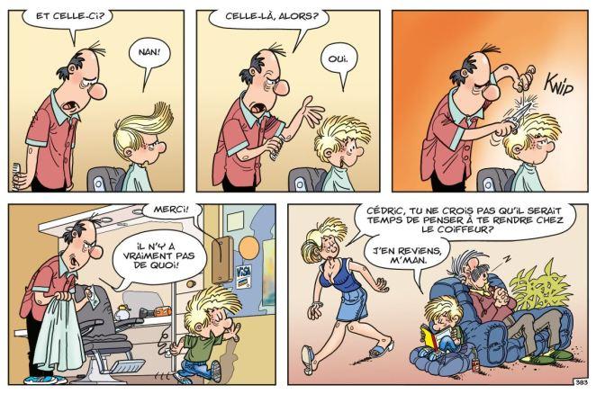 Cédric - Un look d'enfer - Laudec - Cauvin -Dupuis - coiffeur 3