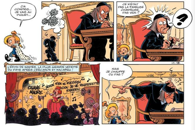 Le petit Louis XIV - Cazenove et Peral - Bamboo - Tome 1 - Edith de Nantes