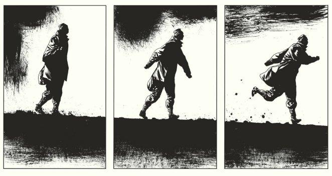 Le Rapport de Brodeck - Tome 1 - L'autre - Manu Larcenet - Dargaud - fuite