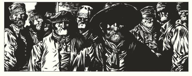 Le Rapport de Brodeck - Tome 1 - L'autre - Manu Larcenet - Dargaud - village