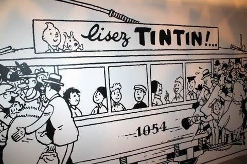 Il y a 100 ans, hommage à Raymon Leblanc Tintin