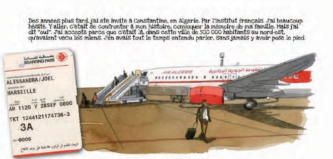 Joel Alessandra Petit-fils d'Algérie Casterman Avion