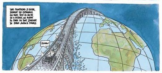 Le monde du dessous - Didier Tronchet - Anne Sibran - Casterman - monde