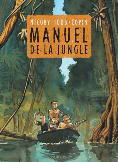 Manuel de la Jungle Nicoby Joub Copin Dupuis Couverture