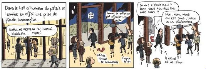 Mathieu Sapin - Le Château - Élysée - Dargaud - assassinat journaliste