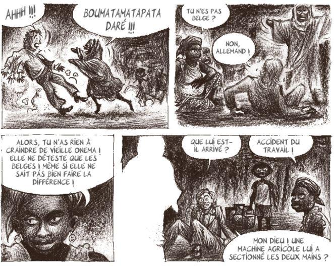 Mobutu dans l'espace - Ducoudray - Vaccaro - Futuropolis - Belges