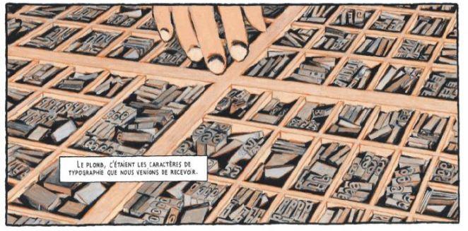 Nicolas Debon L'essai Dargaud Imprimerie