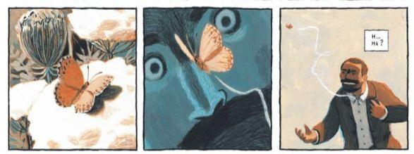 Nicolas Debon L'essai Dargaud papillon