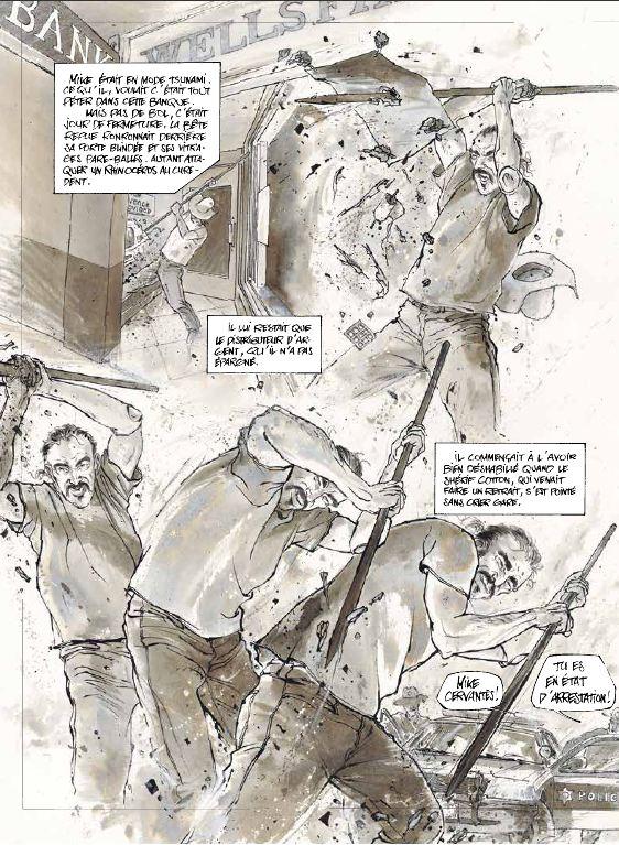 Un certain Cervantès - Christian Lax - Futuropolis - Violence