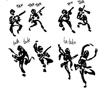 Catharsis Luz Futuropolis - Danseurs