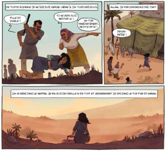 Confidences à Allah - Azzeddine-Simon-Avril-Futuropolis - Répudiation 2