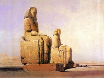 david-roberts-oil-painting-géants