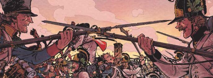 La bataille- Rambaud - Richaud - Gil - Intégrale - affrontement
