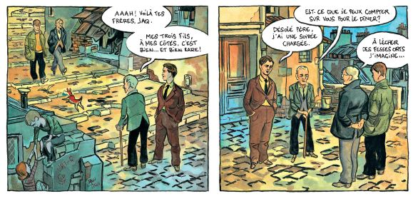 Le printemps humain - Hugues Micol - Casterman - fratrie