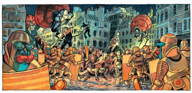 Le printemps humain - Hugues Micol - Casterman - Orts