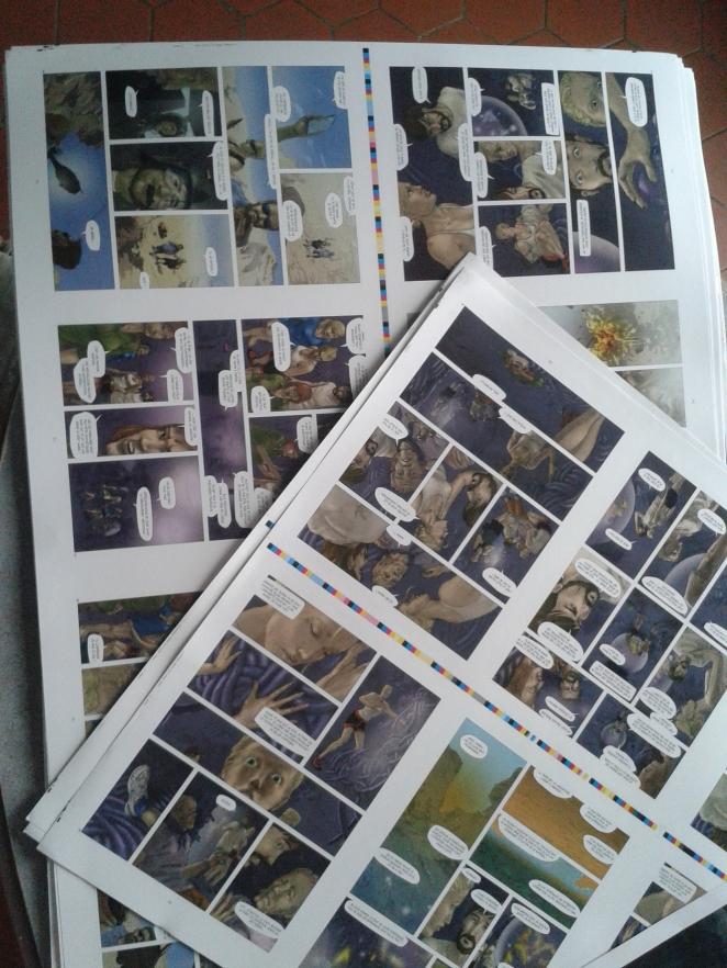 Les anges visiteurs - Thilde Barboni - Emmanuel Murzeau - Eva - cahier d'impression