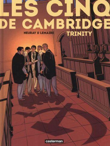 Les cinq de Cambridge - Lemaire - Neuray - couverture