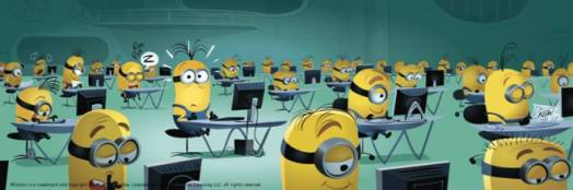 Les Minions - Ah-Koon - Collin - BD - bureau