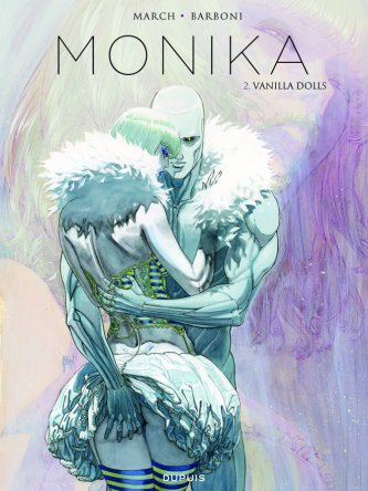 Monika - Thilde Barboni - Guilhem March - Vanilla Dolls - Couverture
