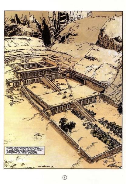 Papyrus - De Gieter - Temple