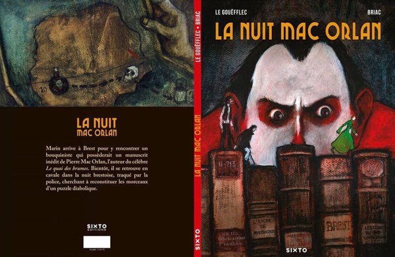 BRIAC QUEILLE - Arnaud le Goefflec- La nuit Mac Orlan