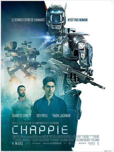 Chappie - Neil Blomkamp - Affiche 1