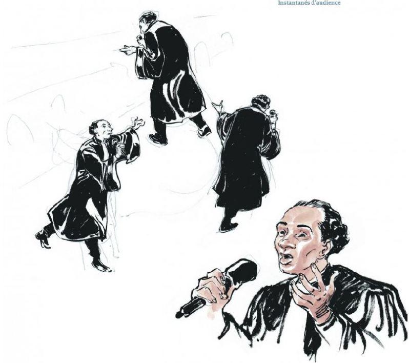 Le Procès Carlton - Robert-Diard - Boucq - Le Lombard - Instantannés d'audience