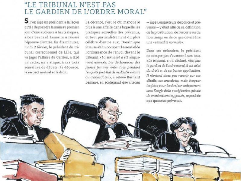 Le Procès Carlton - Robert-Diard - Boucq - Le Lombard - ordre moral