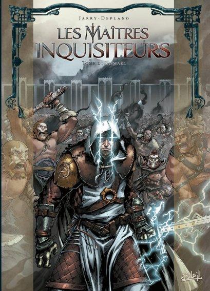 Sasmaël - Maîtres inquisiteurs - Tome 2 - Jarry - Deplano - Couverture