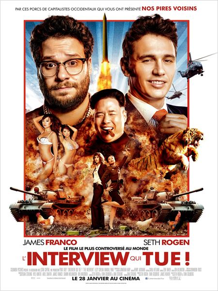 The Interview - Seth Rogen - James Franco - Affiche 2
