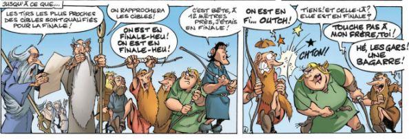 La Parodie - Rodrigue - bagarre