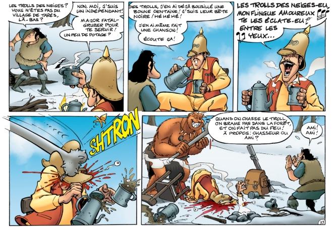 La Parodie - Rodrigue -Moebius et Trolls de Troy
