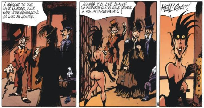 Le Magicien de Whitechapel - Acte II - Benn - ribaude