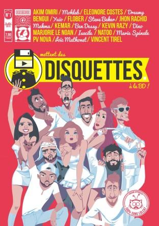 Les Disquettes - Dupuis - Youtube - Arthur de Pins - COuverture
