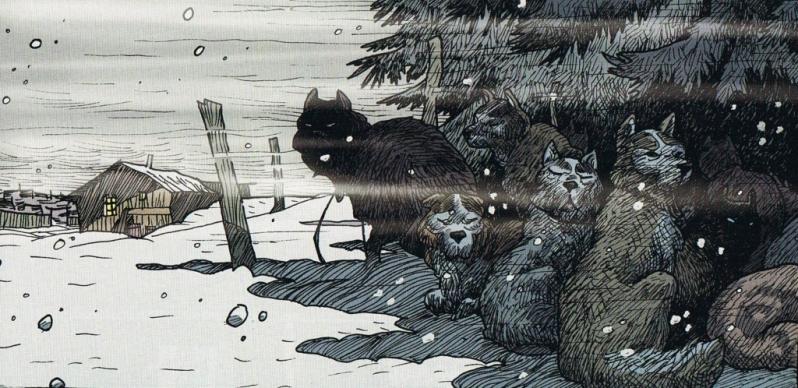 Les poilus d'alaska - tome 2 - Delbosco - Duhand - Brune - chiens