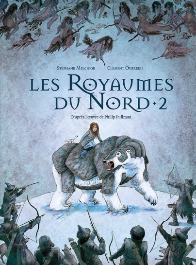 Les Royaumes du nord - tome 2 - Melchior - Oubrerie - Couverture