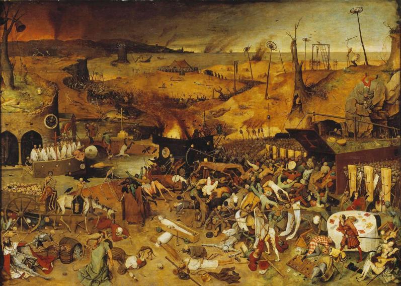 Brueghel - Le triomphe de la mort - peinture