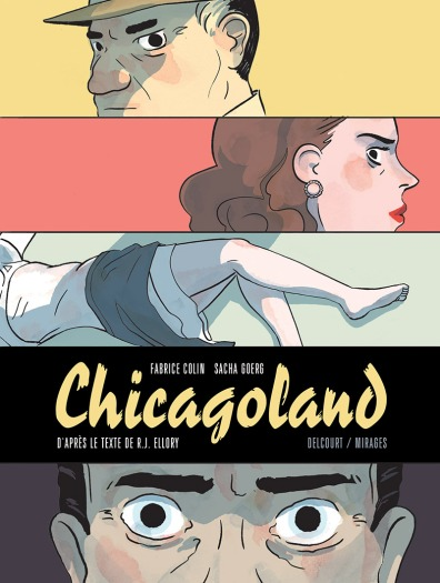 Chicagoland -Ellory - Colin - Goerg - Couverture