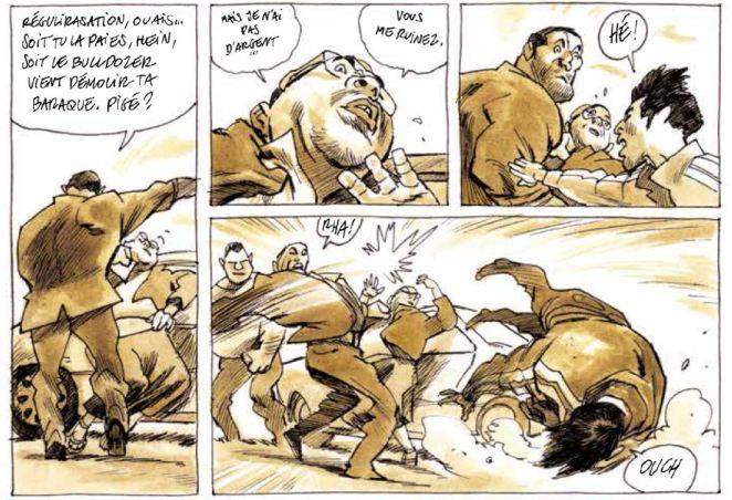 La dame de Damas - Jean-Pierre Filiu - Cyrille Pomès - Violence