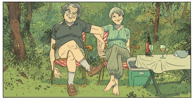 Les beaux étés - Tome 1 - Lafebre - Zidrou - couple vieux