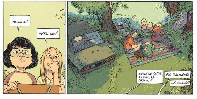 Les beaux étés - Tome 1 - Lafebre - Zidrou - Pique-Nique