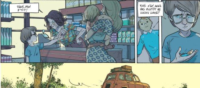 Les beaux étés - Tome 1 - Lafebre - Zidrou - Tintin