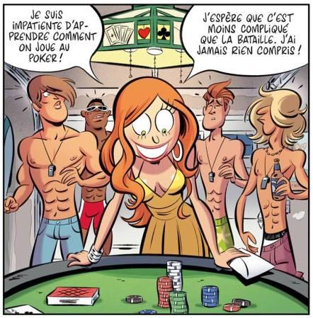 Les Nombrils - Tome 7 - Delaf - Dubuc - Poker