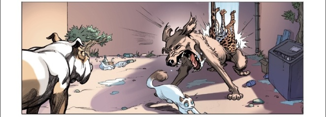 Ocelot - Morvan - Tréfouël - Fouquart - attaque de chiens