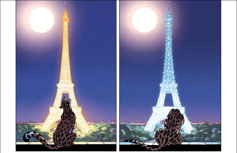 Ocelot - Morvan - Tréfouël - Fouquart - Tour Eiffel