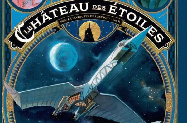 Alex Alice - Le chateau des étoiles - Tome 2 - Couverture