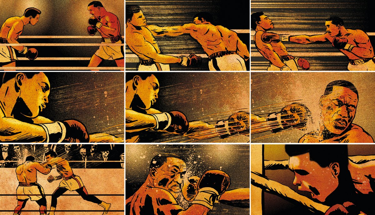 Image result for muhammad ali graphic novel